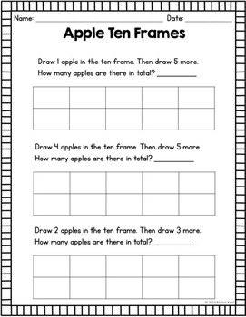 Apple Addition Practice