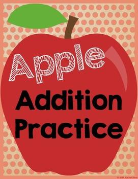 Apple Addition Practice