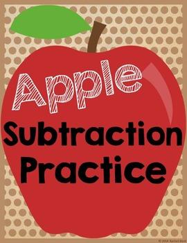 Apple Subtraction Practice