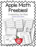 Apple Math Freebie