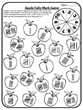 Apple Math Game Tally Mark Game Math Game Tally Mark Center Apple Math Centers