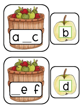Apple Math & Literacy Activities