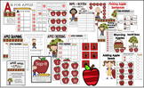 Apple Math & Literacy Centers