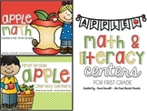 Apple Centers for First Grade