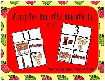 Apple Math Match