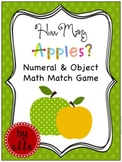 Apple Math Match Game - Freebie!