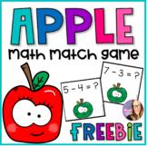 Apple Math Match Game (K-1)