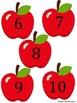 Apple Math Match Math Center Game