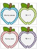 Expanded to Standard Form matching game 1-100 (apple theme)