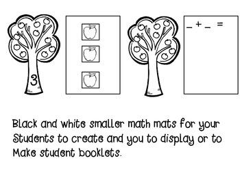 Apple Math Mats