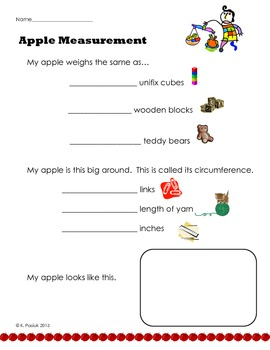 Apple Math Measurement
