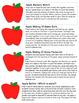 Apple Math! Memory, Making 10 (Addition Practice), & Battle! Great Math Center!