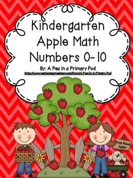Apple Math: Numbers 0-10