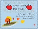 Apple Math Packet!