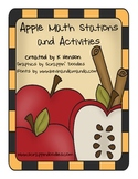 Apple Math Stations and Activities
