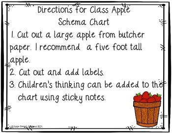 Apple Math and Literacy Printable Activities