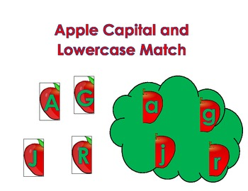 Apple Math and Literacy Centers for an Apple Unit