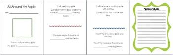 Apple Math and Writing
