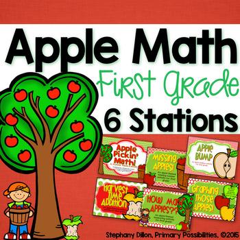 Apple Math for First Grade