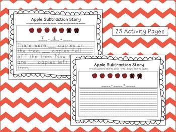 Theme Math Packet - Apple Math