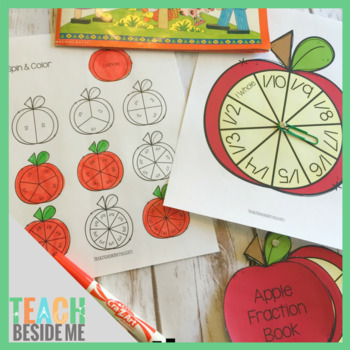 Apple Math with Fractions