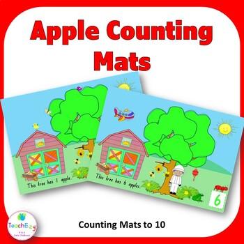 Apple Mats Counting Resource TeachEzy