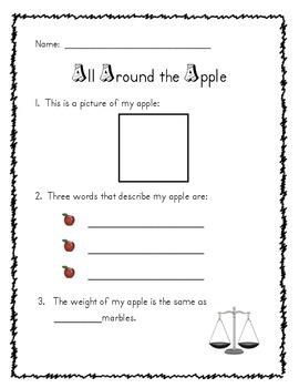 Apple Measuring Activity