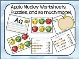 Apple Medley Worksheets & Puzzles Mega Kit