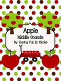 Apple Middle Sounds Activity