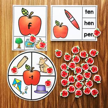Apple Mini Eraser Activities