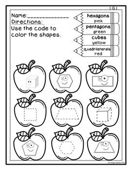 Apples Theme {Math & Reading & Science}