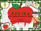 Apple Mini lesson and Center Ideas