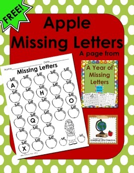 Apple Missing Letters