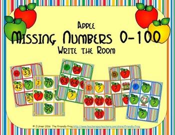 Apple Missing Numbers 0-100