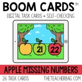 Apple Missing Numbers BOOM CARDS™