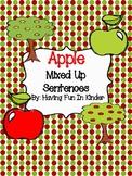 Apple Mixed-Up Sentences