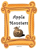 Apple Monsters! activity with writing extension