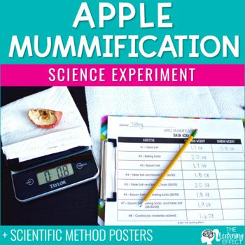 Apple Mummification Science Experiment