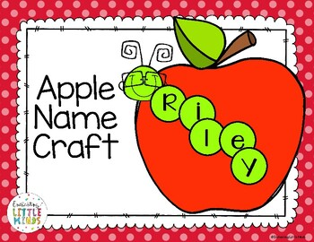 Apple Name Craft