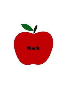 Apple Name Tags