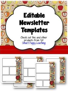 Newsletter Templates - Apple Themed