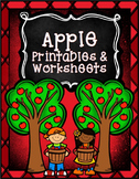Apple No Prep Printables