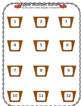 Apple Number Barrels