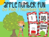 Apple Number Card Game #0-20