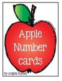 Apple Number Cards - 4 Pocket Chart Ideas