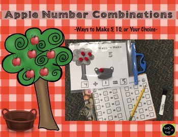 Decomposing and Composing Numbers: Apple Number Combinations