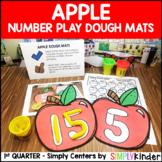 Apple Number Dough Center