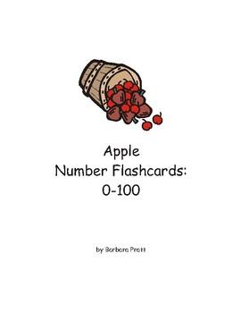 Apple Number Flashcards: 0-100 eBook