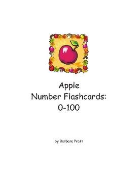 Apple Number Flashcards: 0-100 eBook Version 1