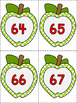 Apple Number Flashcards